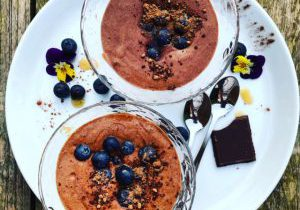 healthy chocomousse